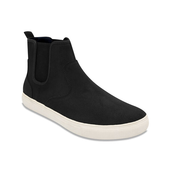 Cutwater Slip-On High-Top Sneakers - Black