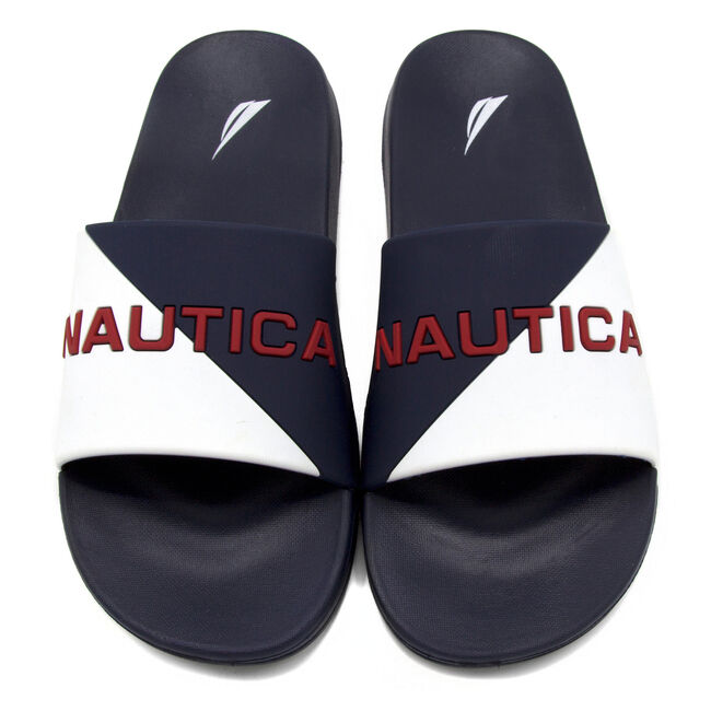 Stono Logo Slides - Navy & White,Navy,large