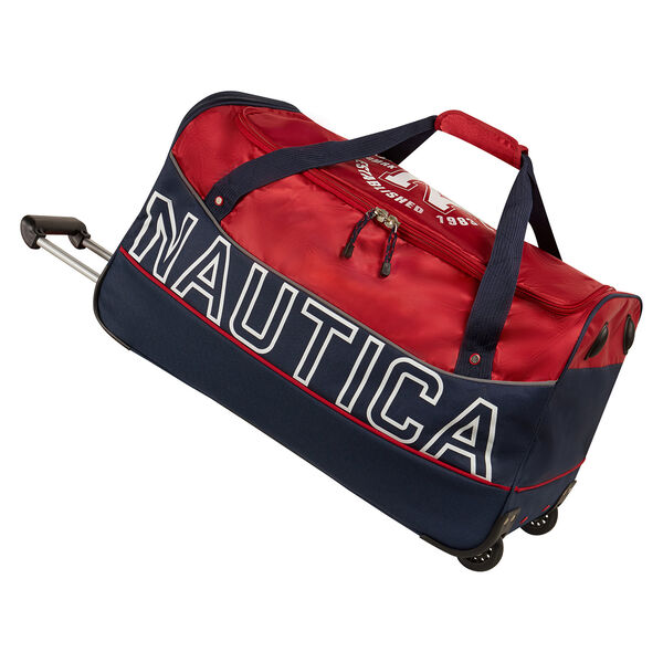 Chronometer Wheeled Duffel - Nautica Red