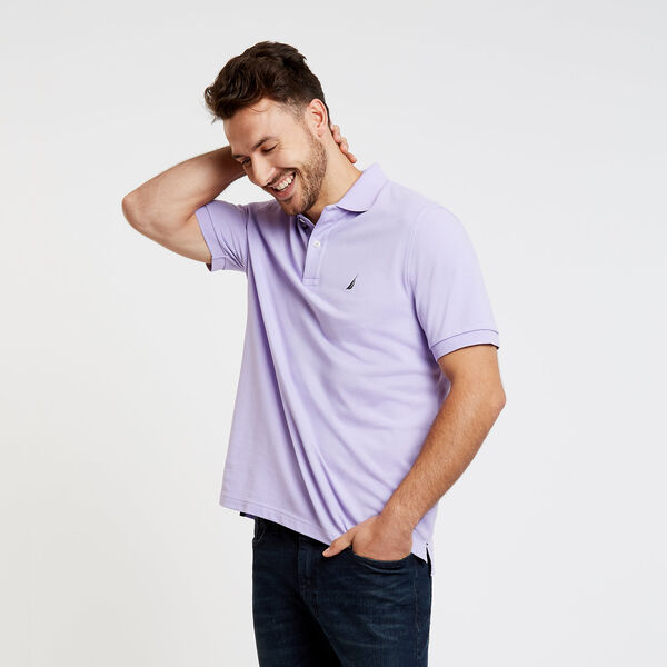 Classic Fit Mesh Polo - Camilla Rose