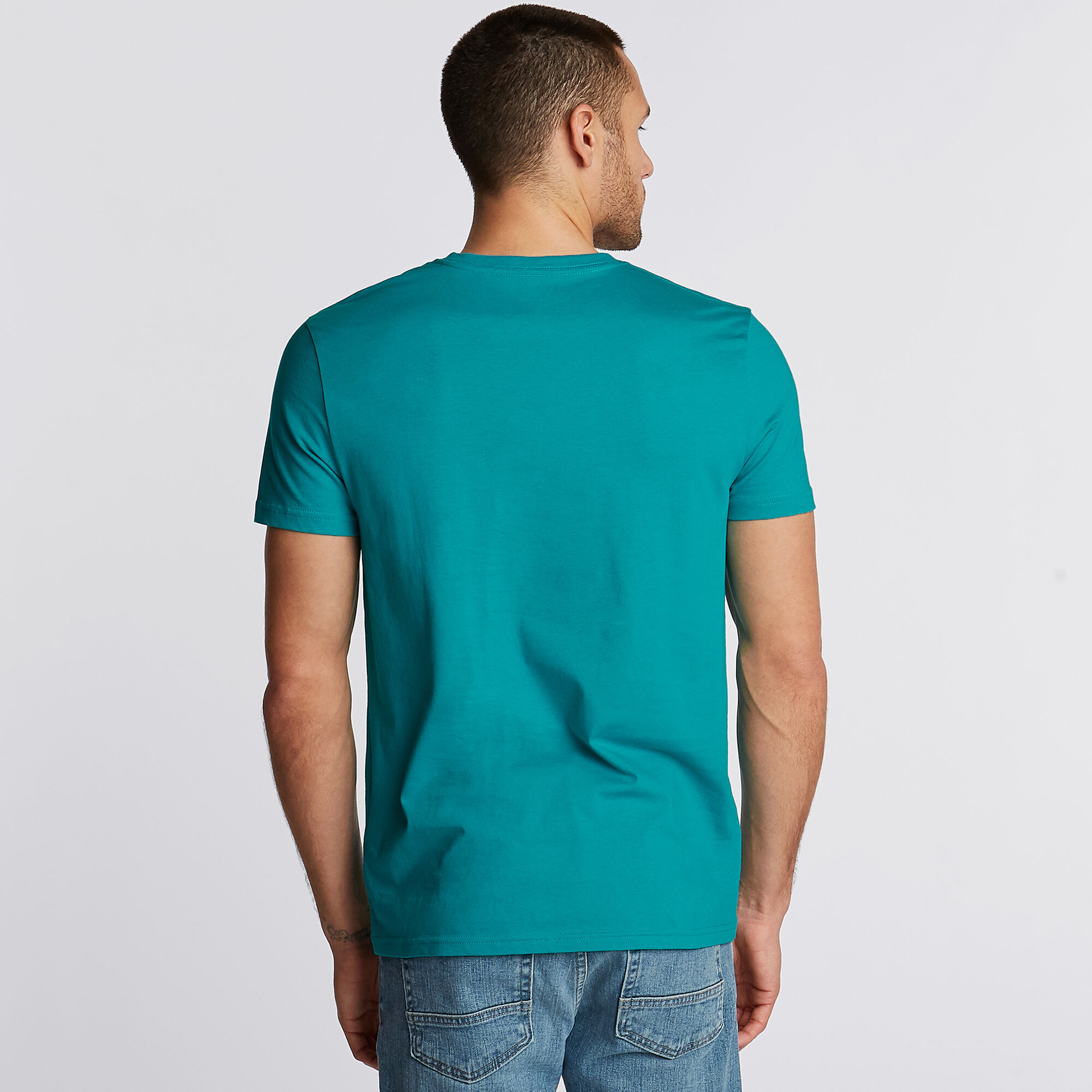 Nautica-Mens-V-Neck-Short-Sleeve-T-Shirt thumbnail 24