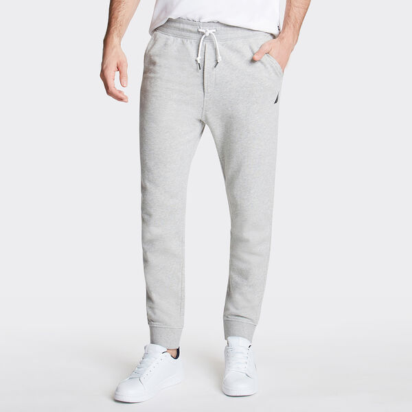 Classic Knit Joggers - Grey Heather