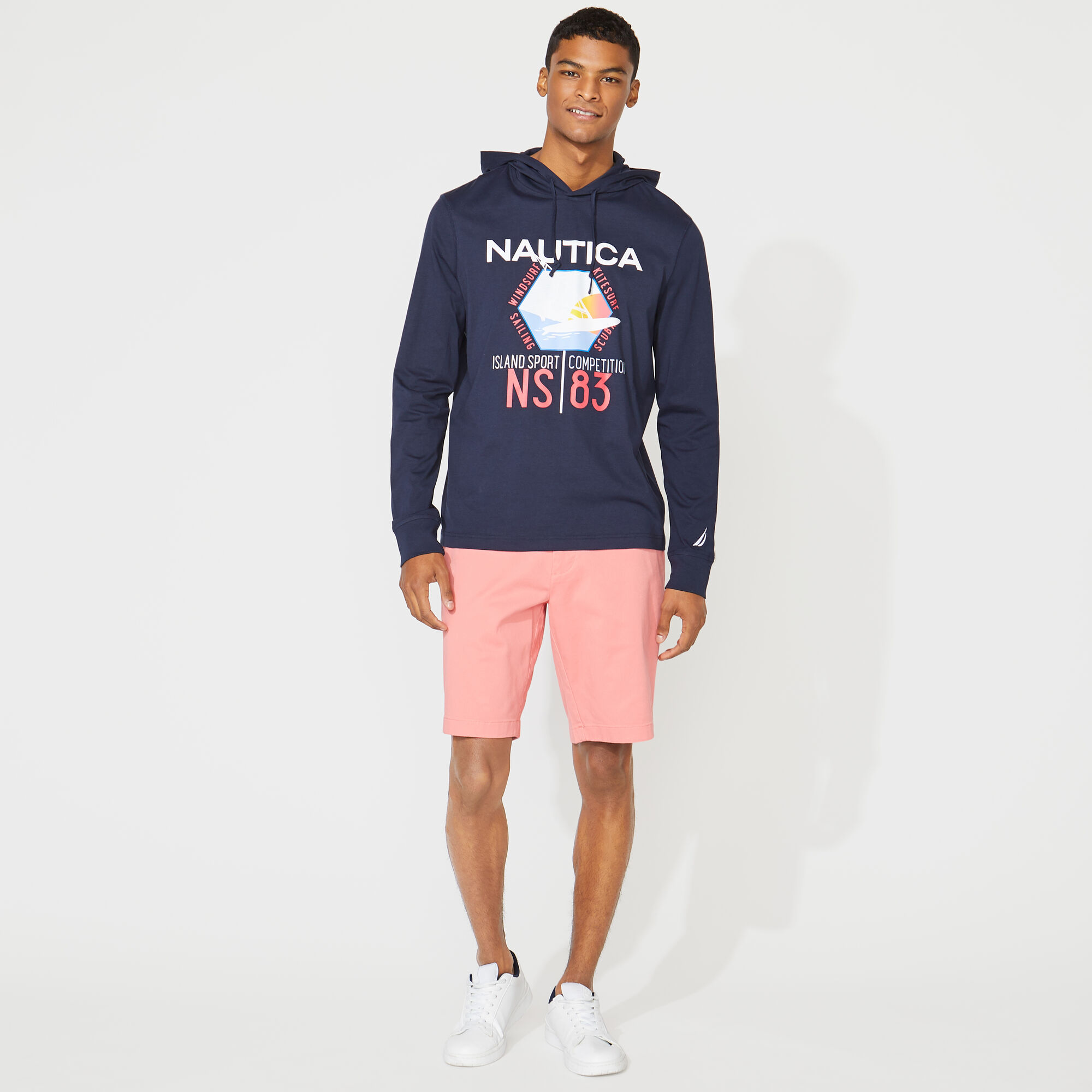 Nautica-Mens-10-034-Classic-Fit-Deck-Shorts-With-Stretch thumbnail 30