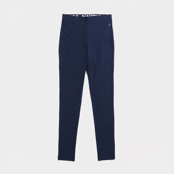 SOLID J-CLASS LEGGING - Stellar Blue Heather