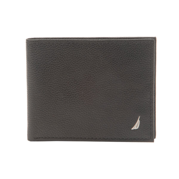 Credit Card Flat Billfold Wallet - Rust Blue Wash Outlet
