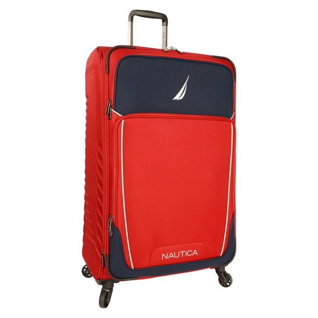 Dockyard Expandable Spinner Luggage,Sailor Red,large