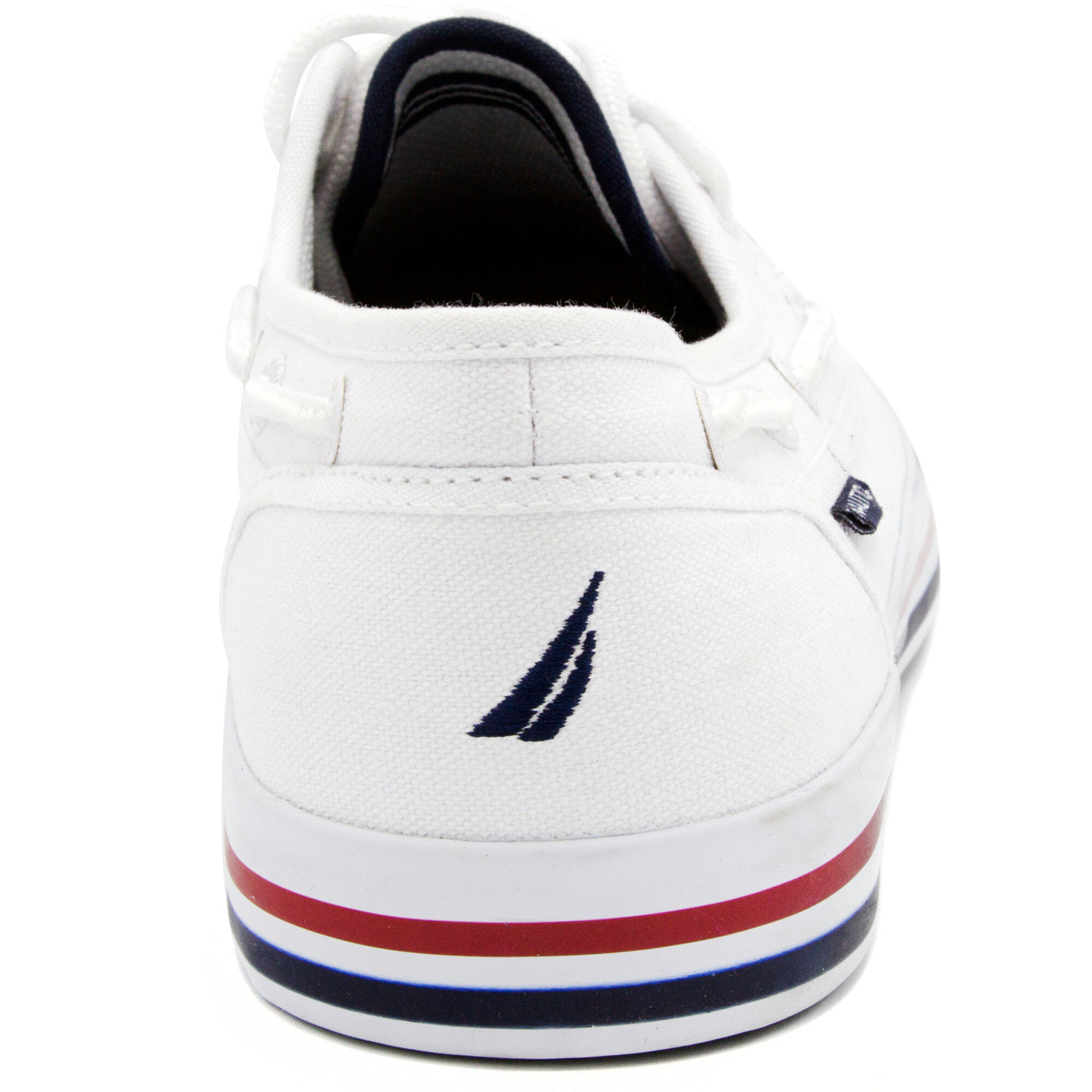 Spinnaker Boat Shoes - White | Nautica