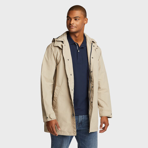Mariner Water Resistant Car Coat - True Khaki