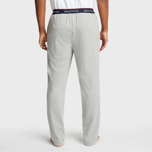 Jersey Lounge Jogger,Grey Heather,large