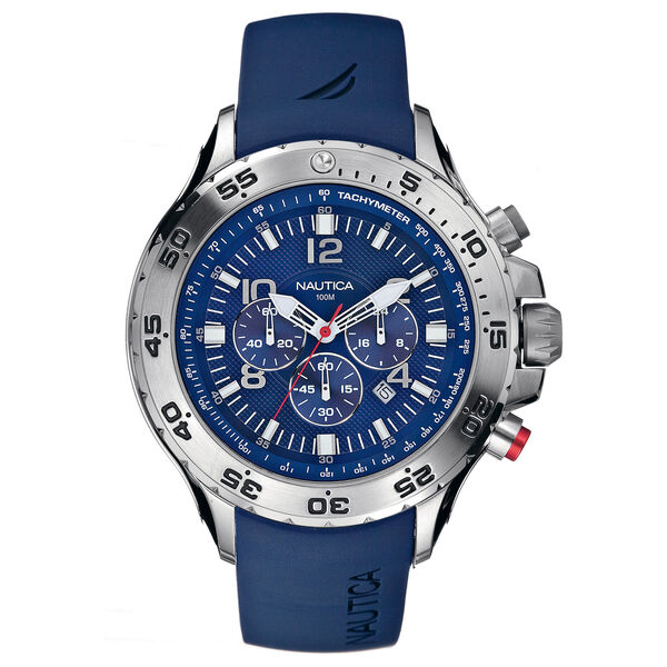 NST Chronograph Watch - Blue - Multi