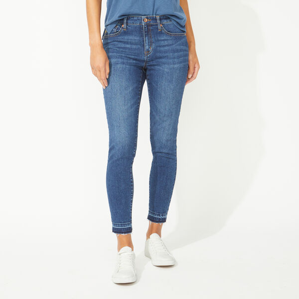 NAUTICA JEANS CO. MID RISE SKINNY DENIM IN STORMY BLUE WASH - Stormy Blue Wash