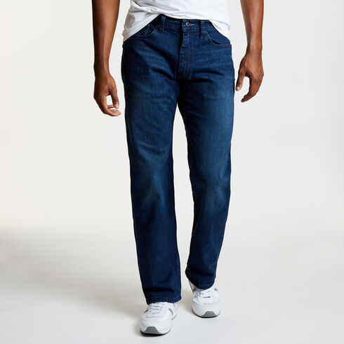 Pure Deep Bay Wash Relaxed Fit Jeans - Pure Deep B