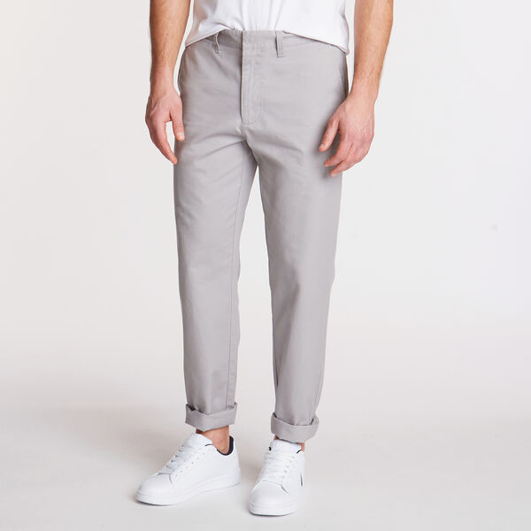 CLASSIC FIT BEDFORD CORD PANTS - Grey Alloy