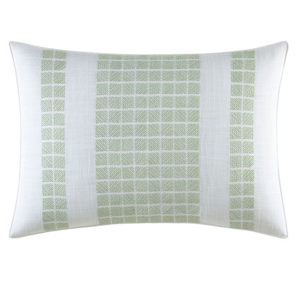 Norwich Sage Green Throw Pillow - Green Apple