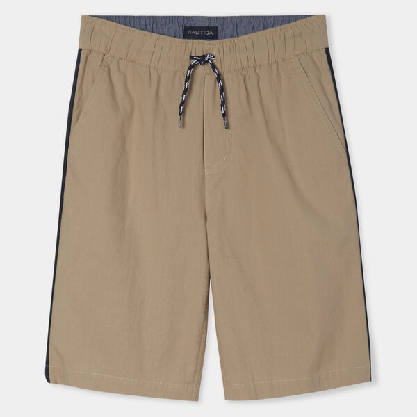 BOYS' CODY POPLIN SHORTS (8-20) - Fawn