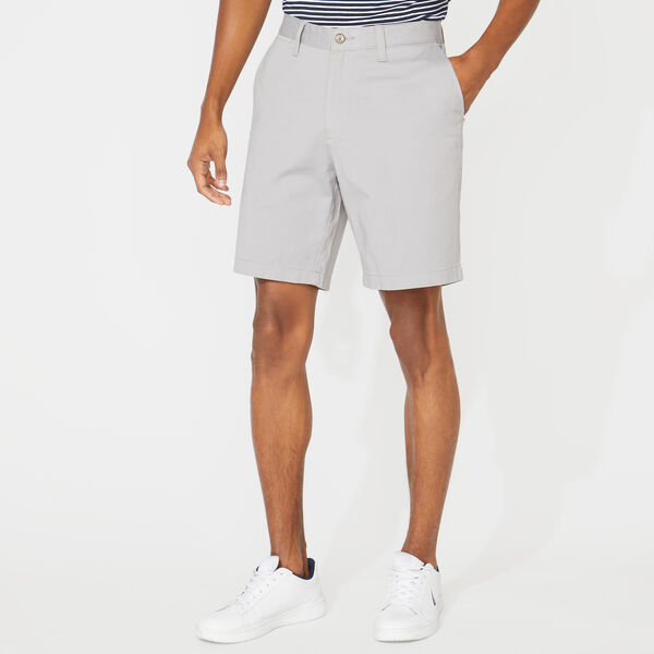"8.5"" CLASSIC FIT DECK SHORTS WITH STRETCH - Grey Alloy"