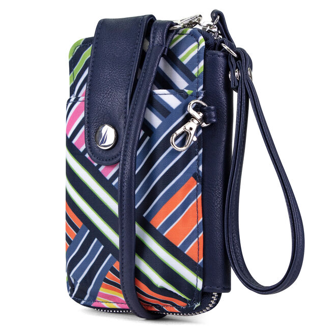 WALLET ON-A-STRING CONVERTIBLE WRISTLET,Ice Blue,large
