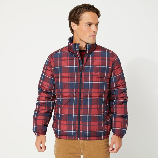 PLAID TEMPASPHERE BOMBER - Lotus