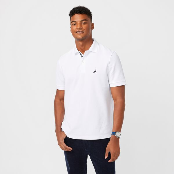 Performance Deck Polo Shirt - Bright White