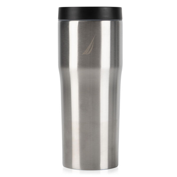 J-CLASS DOUBLE-WALLED STAINLESS STEEL PUSH-BUTTON TUMBLER - Graphite Heather