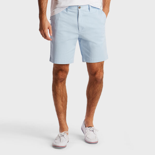 "8.5"" CLASSIC FIT DECK SHORTS WITH STRETCH - Horizon Blue"