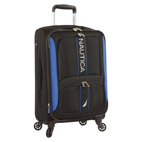"Dodger 21"" Expandable Spinner Luggage - True Black"