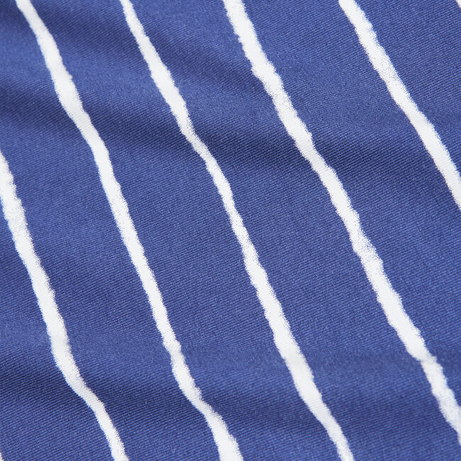 STRIPE TASSEL-DETAIL KNIT TOP,Blue Depths,large