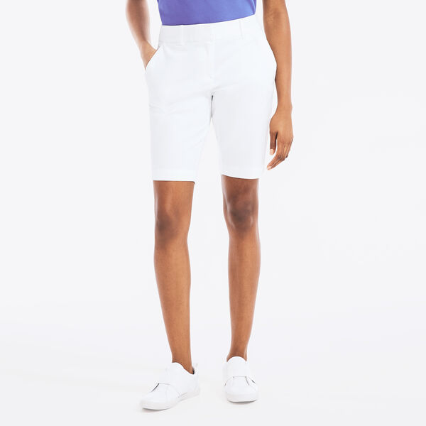 "10"" STRETCH-TWILL SHORT - Bright White"