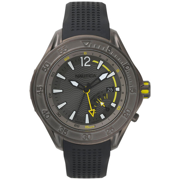 Water Resistant Breakwater Watch - Heather - Ice Grey Heather
