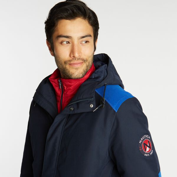 3-IN-1 PARKA WITH TEMPASPHERE - Navy