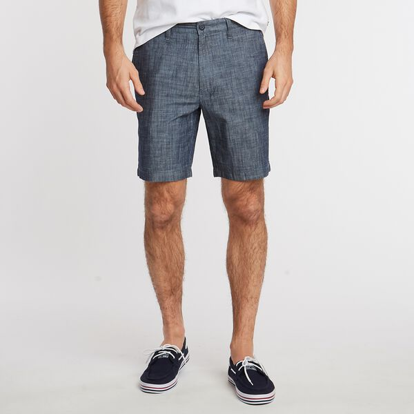 "8.5"" Chambray Deck Short    - Sinker Blue Denim Wash"