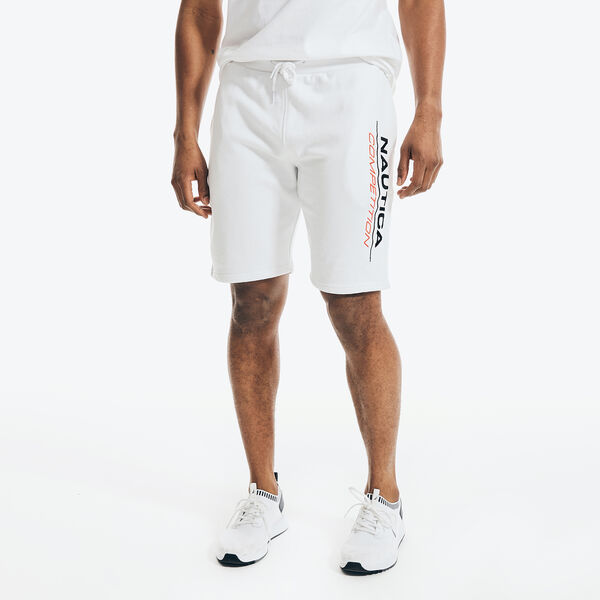 COMPETITION SIDE LOGO FLEECE SHORT - Bright White