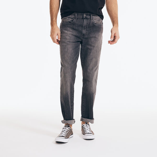 STRAIGHT FIT DENIM - Light Putty