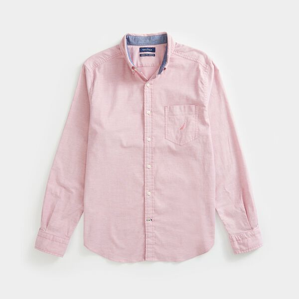 CLASSIC FIT OXFORD SHIRT - Coral Cape