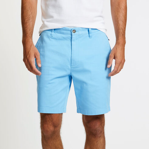 "Flat Front Classic Fit Deck Shorts - 8.5"" Inseam - Silver Lake Blue"