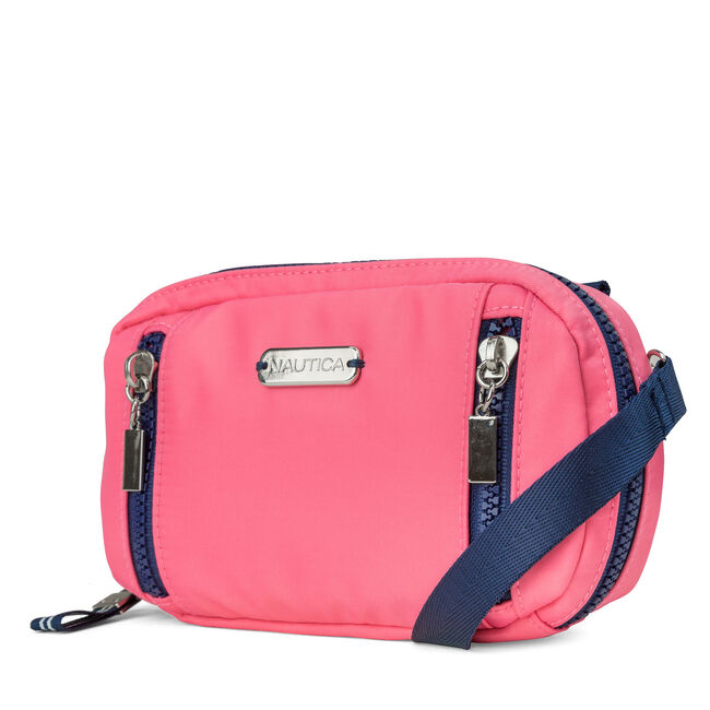 Soft Wallet-on-a-String - Pink,Spiced Coral,large