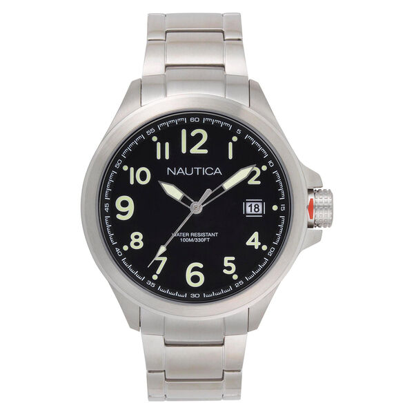 Glen Park Watch with Metal Bracelet - Multi
