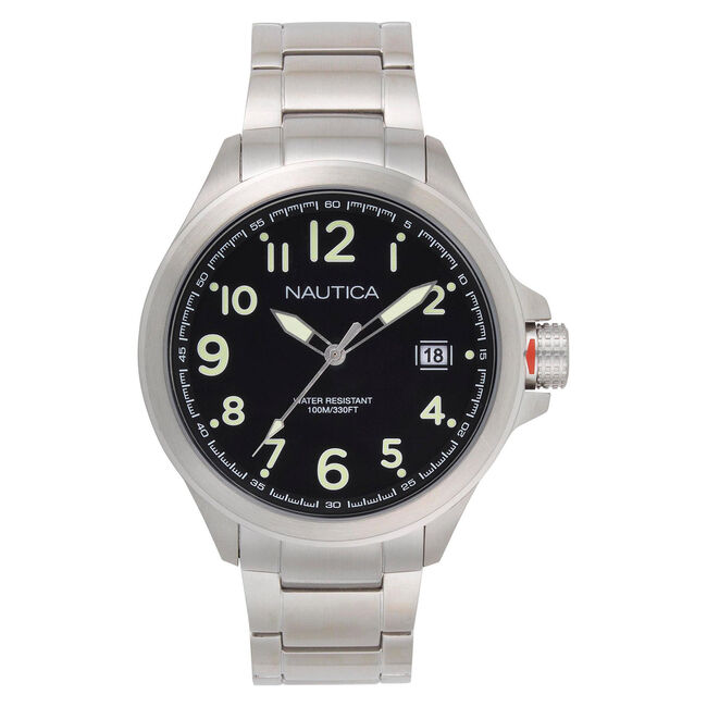 Glen Park Watch with Metal Bracelet,Multi,large