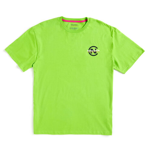 Lil Yachty by Nautica Competition Logo Tee - Lime Surf