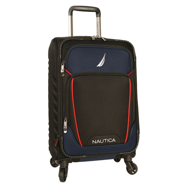 "Dockyard 20"" Expandable Spinner Luggage - Black"