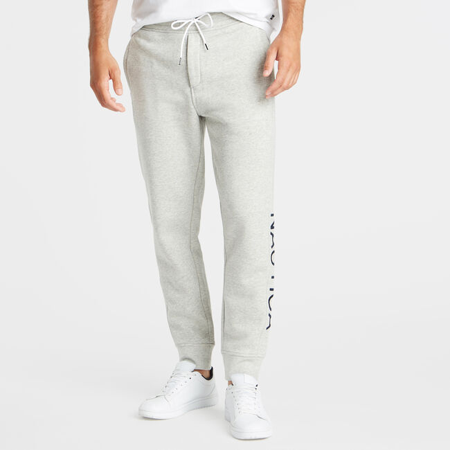 LOGO TRACK PANT,Grey Heather,large