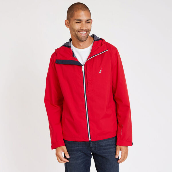 Discovery Rainbreaker Jacket - Nautica Red