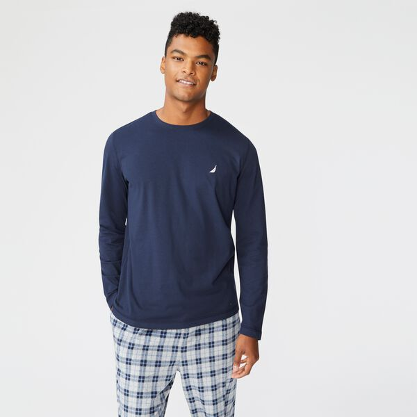 J-CLASS LONG SLEEVE SLEEP TOP - Navy
