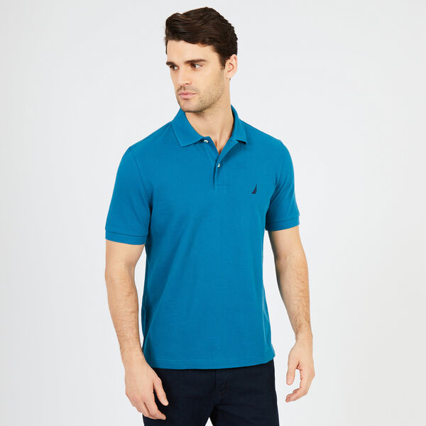 CLASSIC FIT DECK POLO - Sea Mist