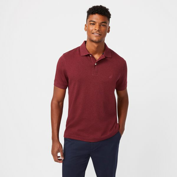 BIG & TALL CLASSIC FIT INTERLOCK POLO - Cabana Pink