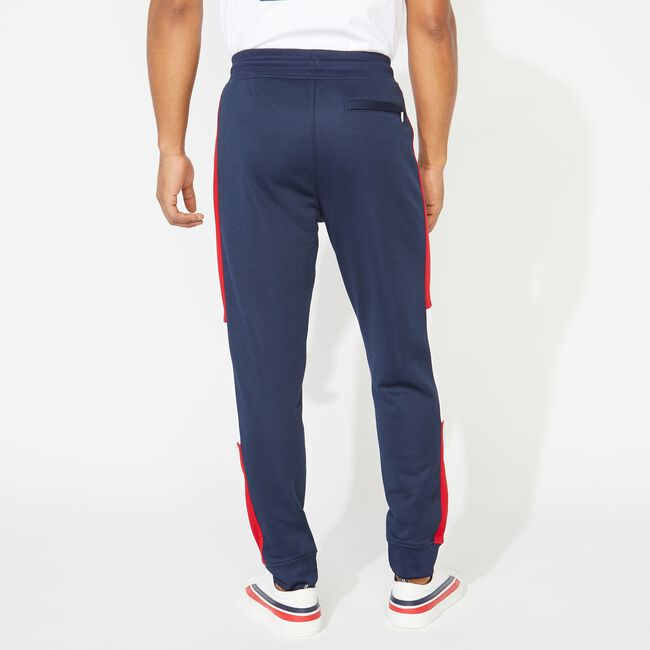 COLORBLOCK SIDE PANEL JOGGER,Navy,large