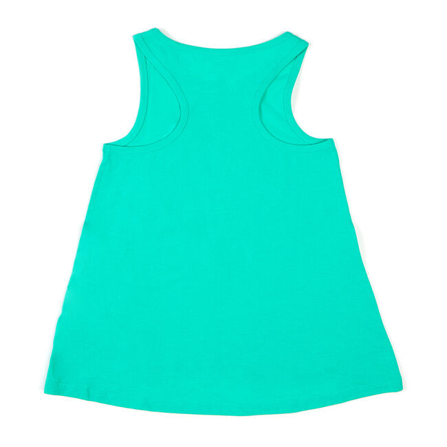 Toddler Girls' Palm Heart Tank (2T-4T),Green,large