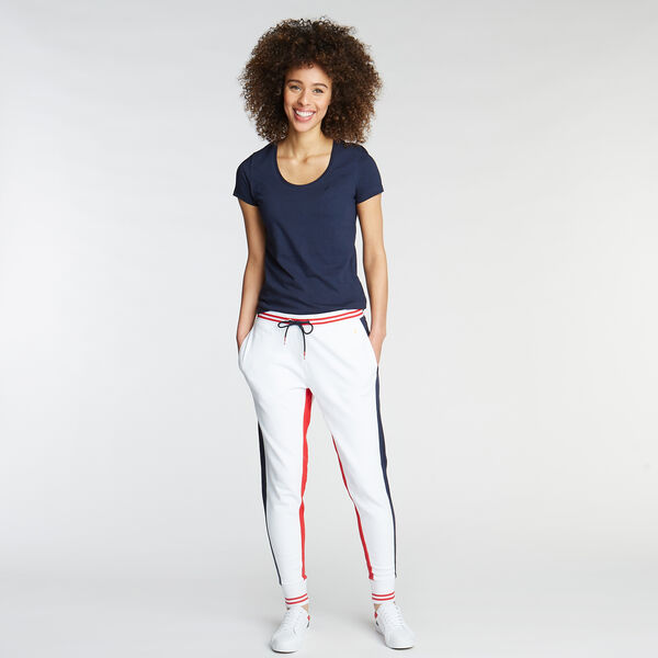 FRENCH TERRY JOGGER - Bright White