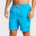 "Nautica Solid 8"" Swim Trunks"
