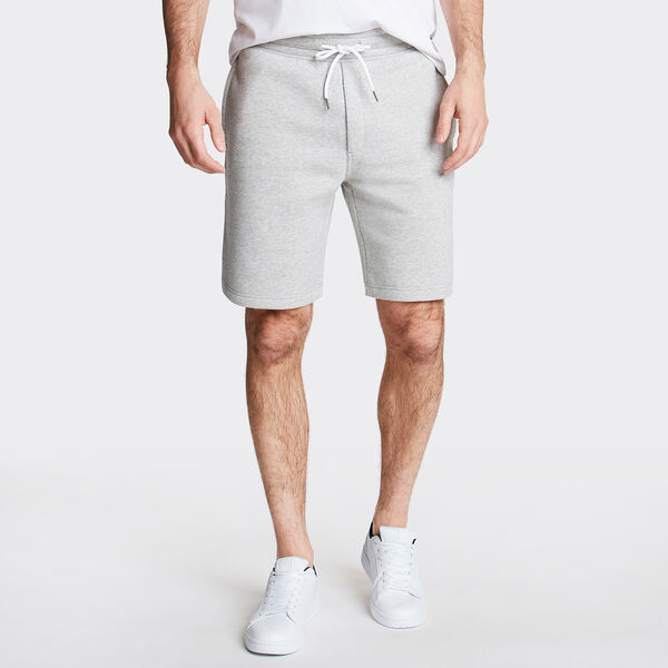 "8.5"" LOGO KNIT SHORTS    - Grey Heather"